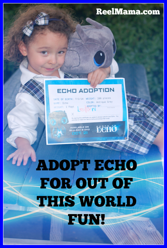 Adopt Echo from Earth to Echo!