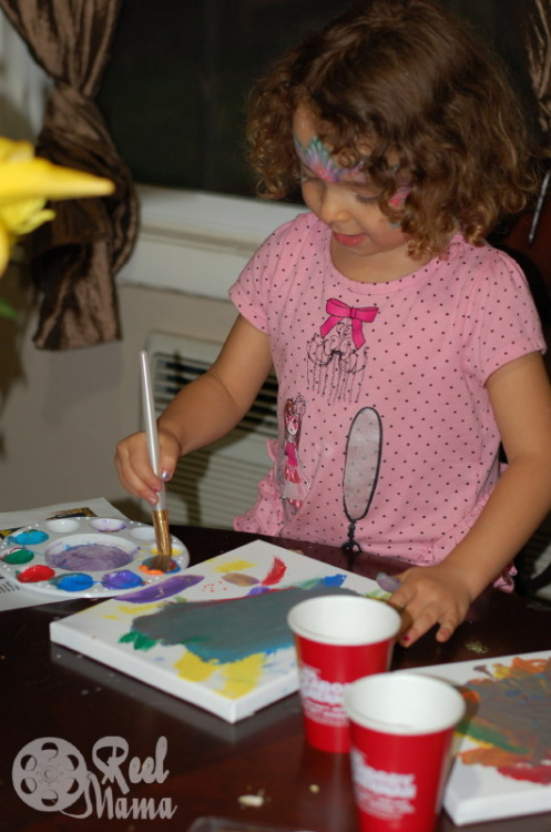 Mr Peabody party painting