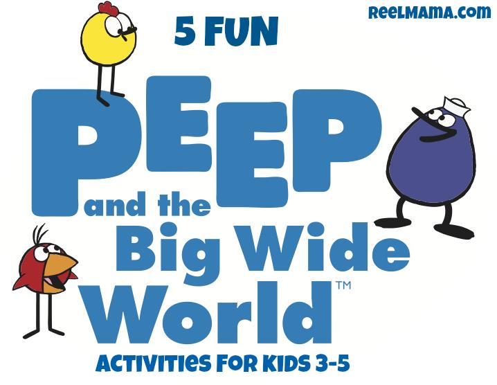 Peep Big Wide World Activities Buggon