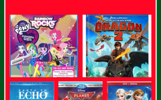 10 best kids movies stocking stuffers for Christmas 2014