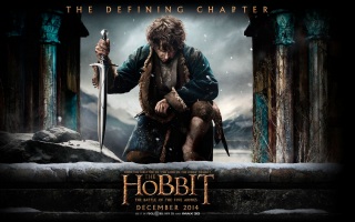 The Hobbit Battle of the Five Armies and Mr. Turner sneak peeks ~ Movies now playing in theaters