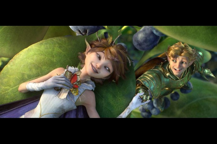 Marianne and Roland, fairies in Strange Magic by George Lucas