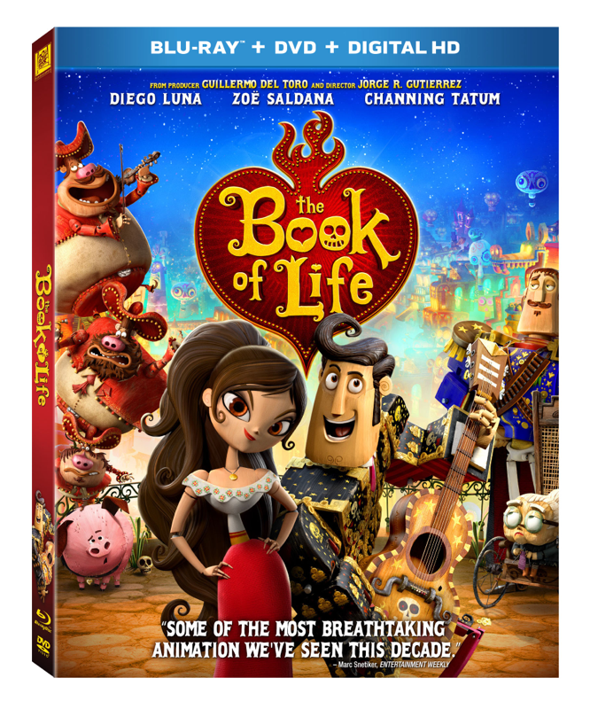 Book of Life on Blu Ray