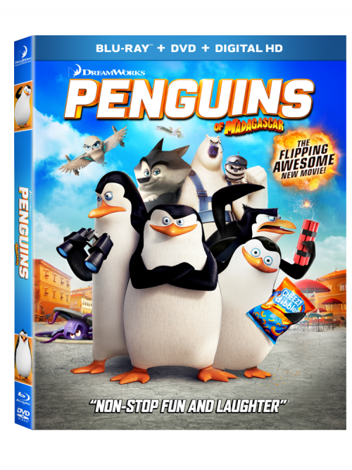 Penguins Of Madagascar Blu Ray