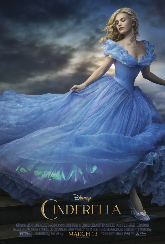 Disney's live action Cinderella 2015 movie poster