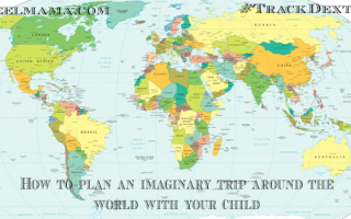Plan an imaginary trip around the world with your child ~ world map. Night at the Museum 3 activity.