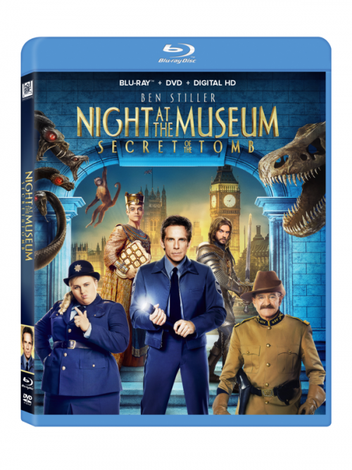 Night at the Museum Blu Ray