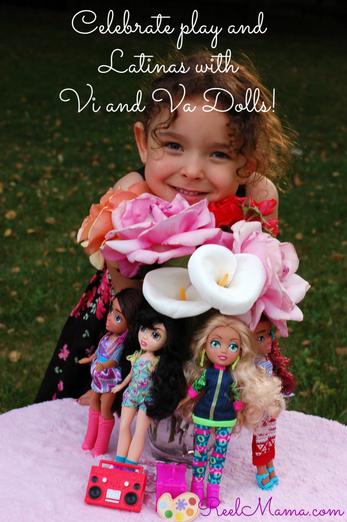 Vi and Va dolls bouquet