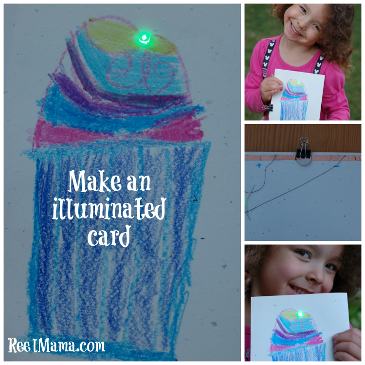 Make an illuminated card ~ summer activities from Galileo Camps