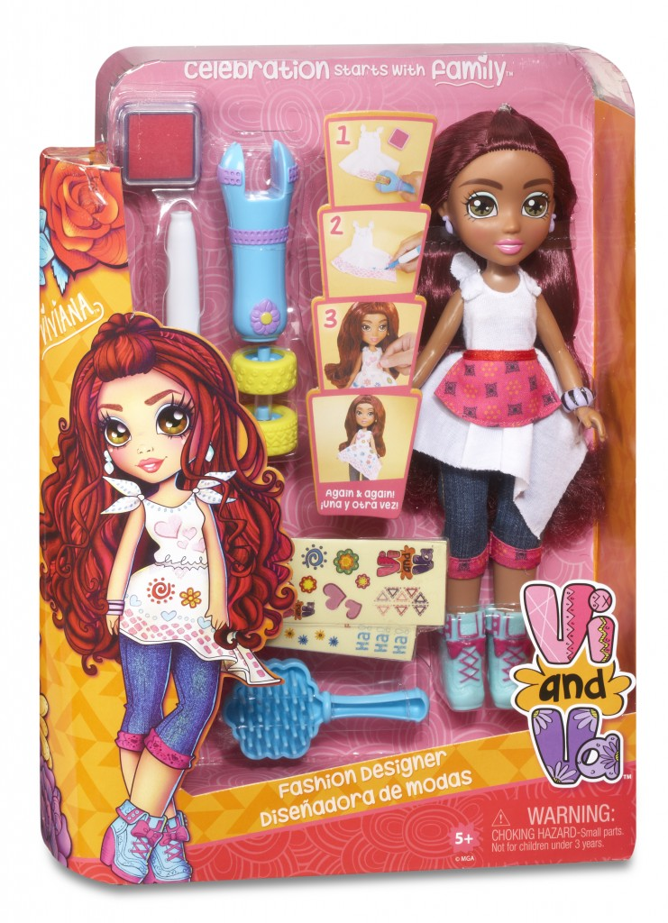 Vi and Va Fashion Designer Doll Viviana