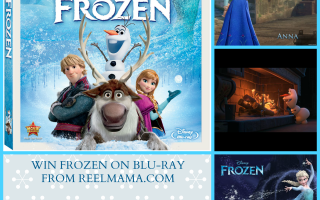 OVER: Win Disney's Frozen on Blu Ray!