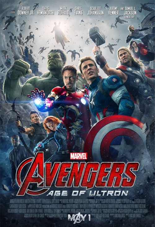 The Avengers Age of Ultron movie poster