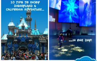 10 Disneyland and California Adventure tips ~ Make the most of a one-day visit