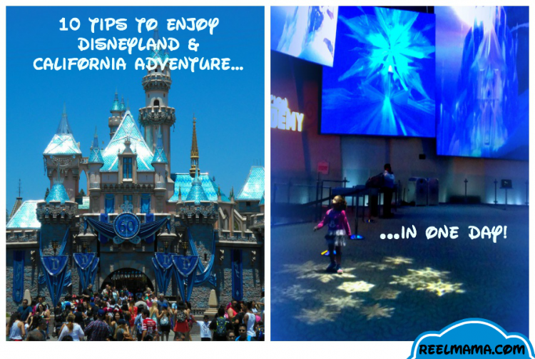 Disneyland and California Adventure tips for enjoying the parks in one day