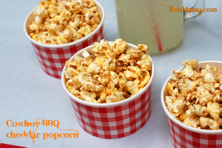 Cowboy BBQ cheddar popcorn recipe: a fun twist on movie popcorn