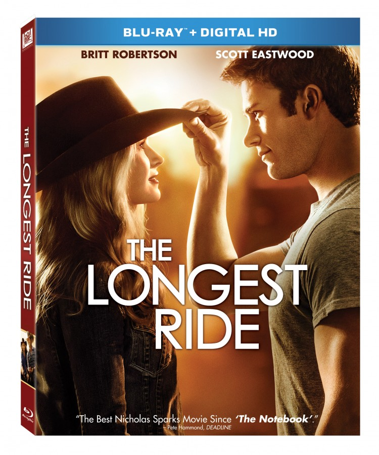 The Longest Ride Blu Ray