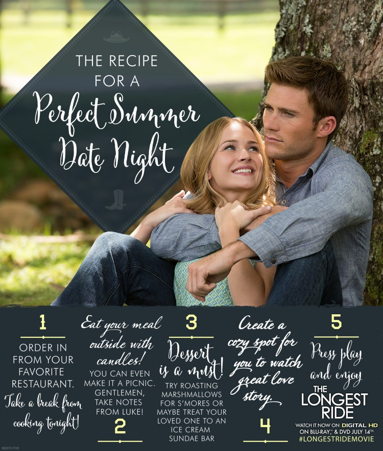The Longest Ride date night ideas
