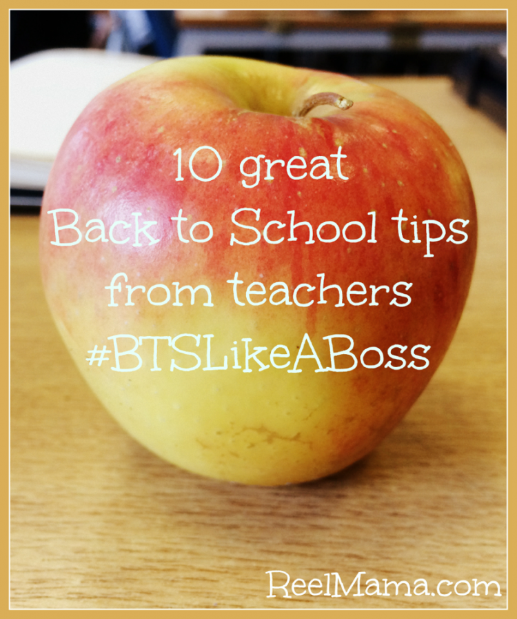 10 Great Back to School tips from teachers