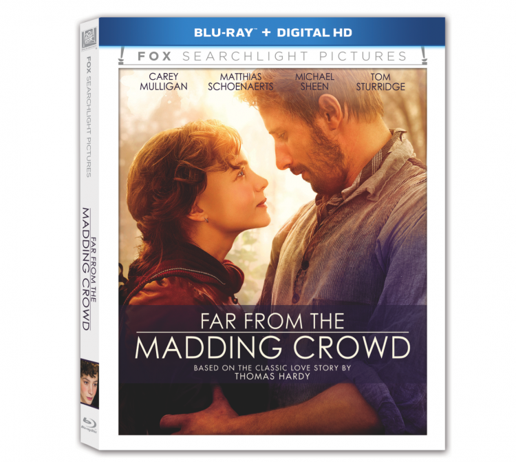 Far from the Madding Crowd Blu Ray