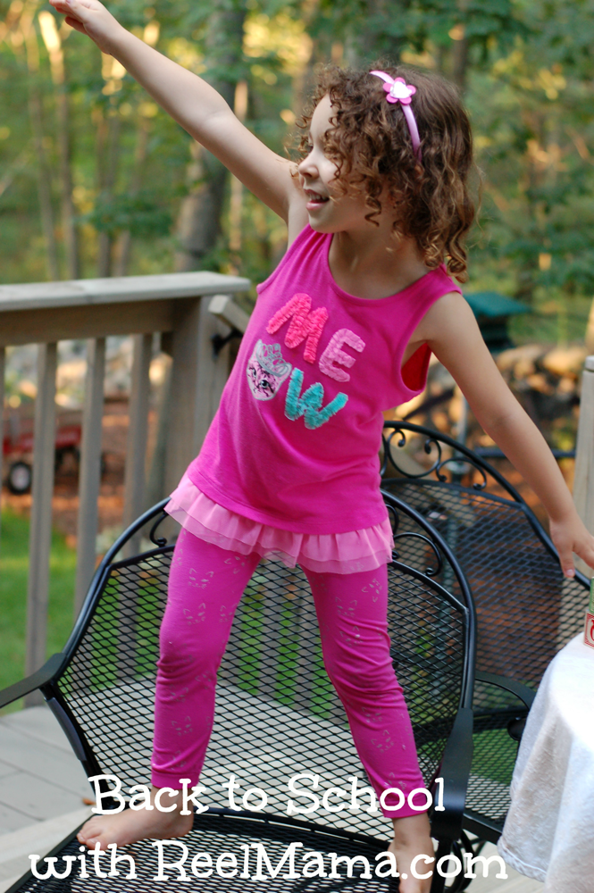 Back to School tip: Let kids mix and match to pick out outfit the night before!
