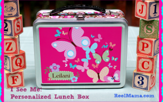 Get a personalized lunch box for your child with I See Me #BacktoSchool