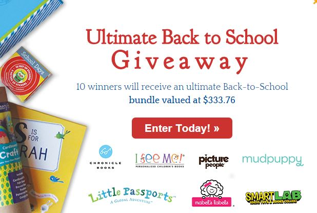 I See Me Ultimate Back to School Giveaway
