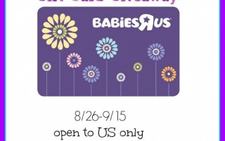 Win a $75 Babies R US gift card and a pack of Pampers wipes ~ Ends 9/15/15