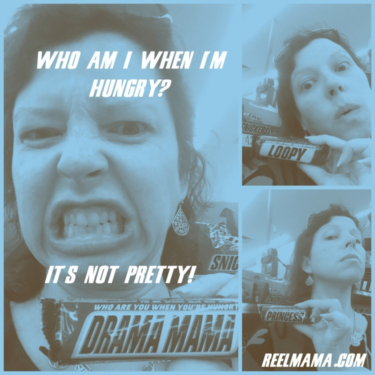 Who am I when I am hangry? It's not pretty! Rescued by SNICKERS® Hunger Bars #shop #cbias #EatASNICKERS