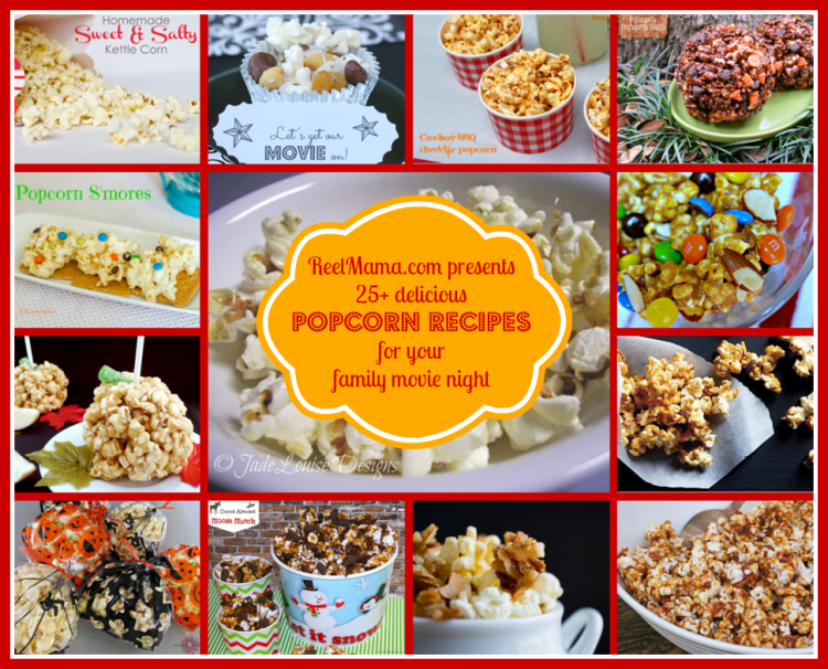 25 delicious popcorn recipes for your next family movie night