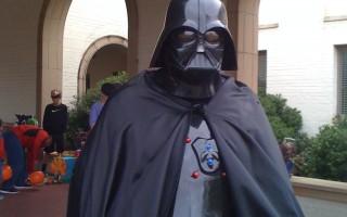 My dad is Darth Vader! ~ World's coolest dad #StarWars