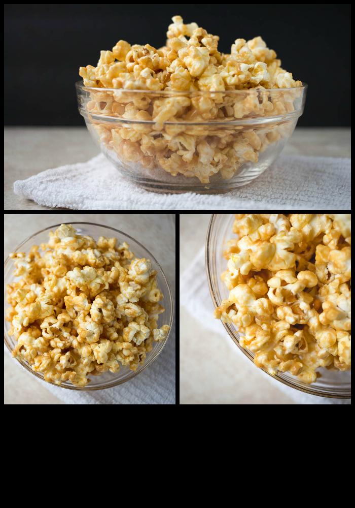Late night peanut butter popcorn from Alisha Enid