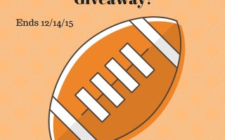 Enter our Football Playoffs giveaway (Ends 12/14/15)