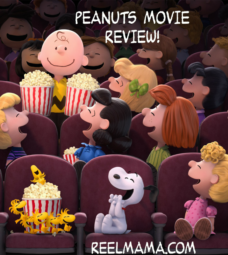 Peanuts movie review starring Charlie Brown, Snoopy, Woodstock, Lucy, Sally, and Schroeder