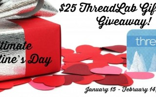 Win a $25 Thread Lab Gift Card (Ends 2/14/16)