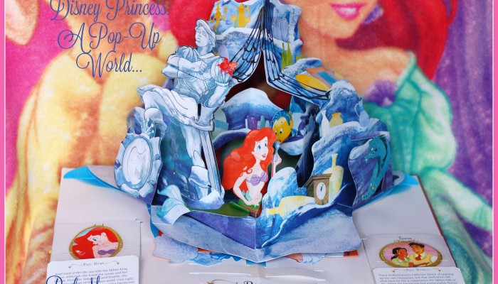 Exquisite Disney Princess A Magical Pop-Up World is fit for a princess