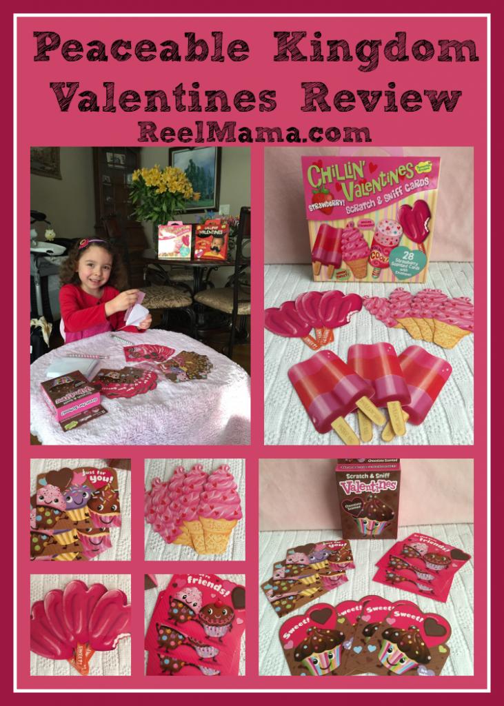 Peaceable Kingdom Valentines review by ReelMama.com