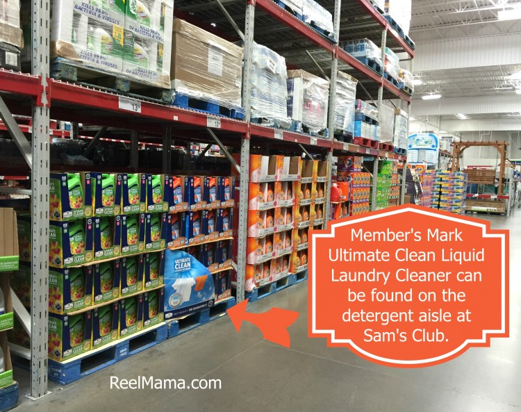 Member's Mark Ultimate Clean Liquid Laundry Cleaner is available at Sam's Club. Use it to wash your baby clothes after you complete your cute baby clothes hamper!