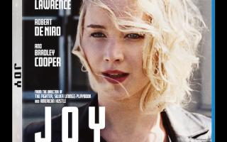 Win JOY starring Jennifer Lawrence on Blu-Ray! (Ends 5/16/16)