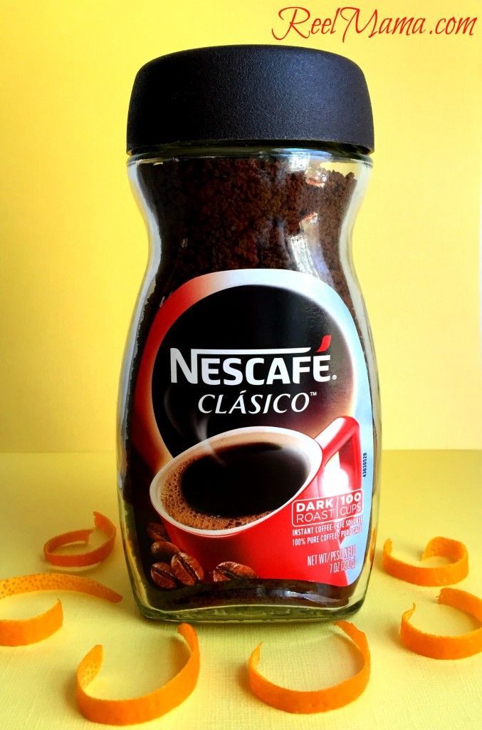 NescaféClásico is the perfect coffee to use for the orange cream café for your next #MomentoNESCAFE Sobremesa