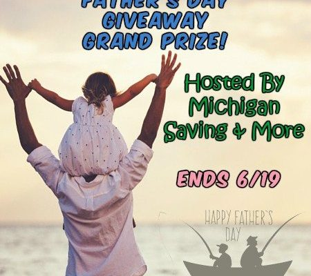 Father's Day Giveaway Grand Prize (Ends 6/19/16)