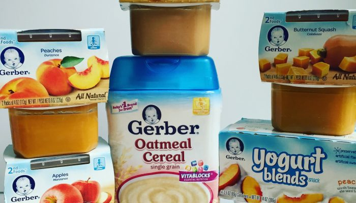 $50 pre-paid credit card giveaway and #CookingWithGerber recipes! #CookingwithGerberGiveaway