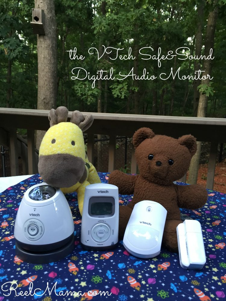 A mom's peace of mind: The VTech Safe and Sound Audio Monitor with Open/Close and Motion Sensors