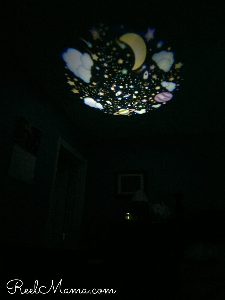 A mom's peace of mind: The VTech Safe and Sound with glow-on-ceiling night light