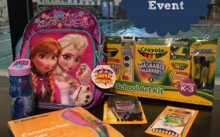 The Giving Back Packs Event: Giving back for back to school
