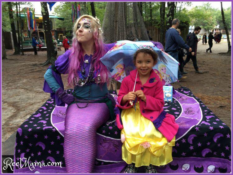 Mermaid at King Richard's Fair, Carver, Massachusetts