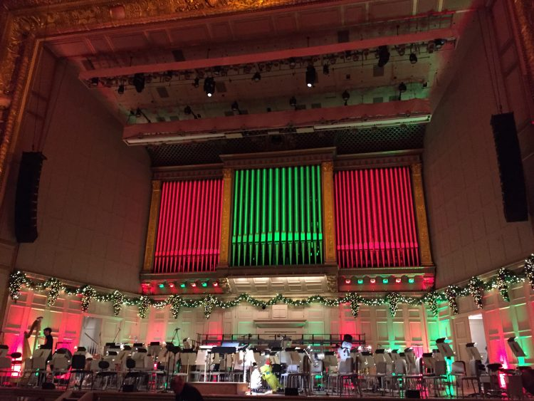 Symphony Hall at the Holiday Pops Kids Matinee ~ Holiday Pops