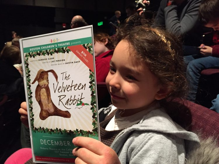 The Velveteen Rabbit at the Boston Children's theater