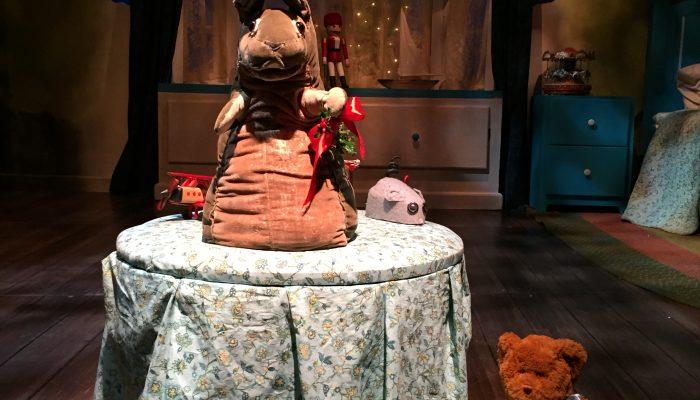 The Velveteen Rabbit puppet by Marjorie Tudor of the Tasha Tudor family at the Boston Children's theater