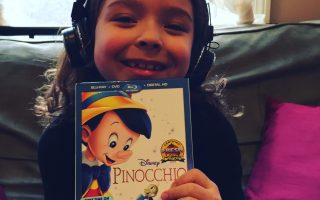 Host a Pinocchio family movie night!