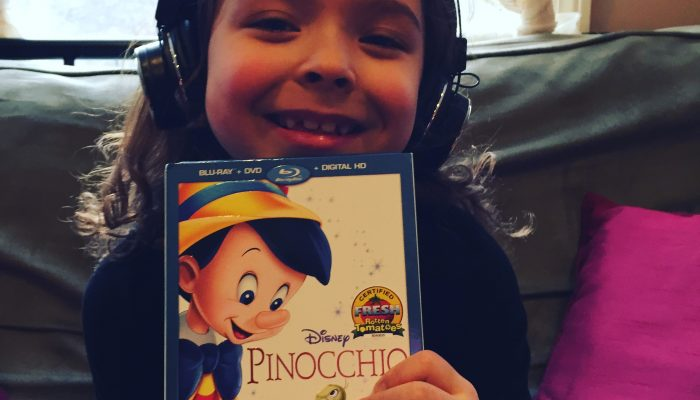 Host a Pinocchio family movie night!